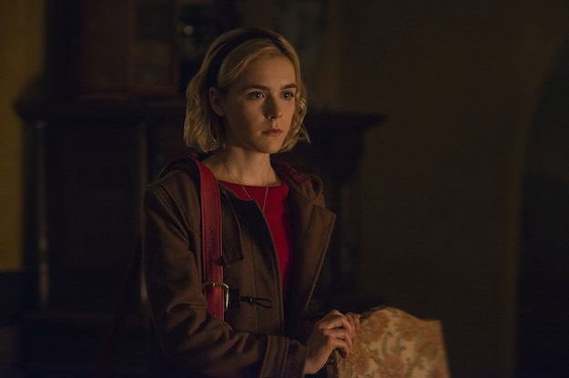 Omg The Chilling Adventures Of Sabrina Is Coming Back In April Sabrina Spellman Best Series On Netflix Sabrina
