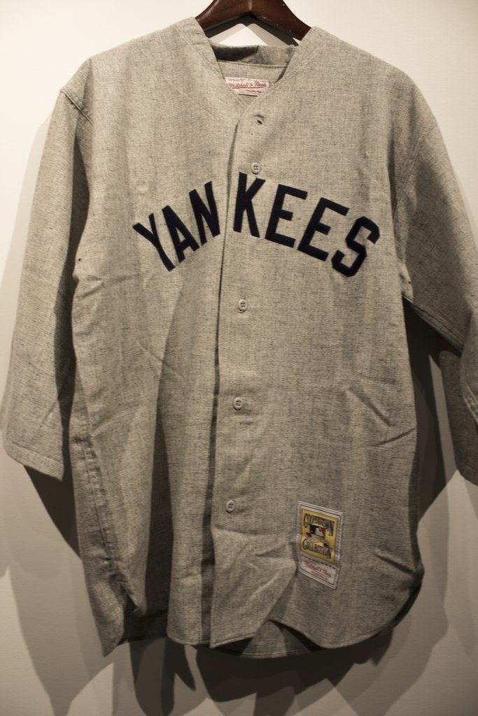 61a671266cc Mitchell & Ness Authentic Babe Ruth 1929 #BabeRuth #newyorkyankees  #vintagejersey #authentic