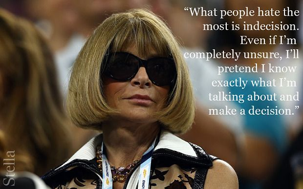 10 quotes that prove Anna Wintour is a born boss - Telegraph