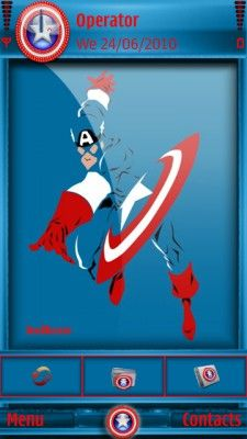 Tema SIS captain america01hc para celular