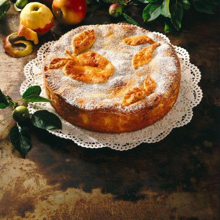 Gedeckter Apfelkuchen Rezept | LECKER