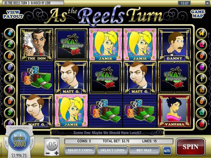 Lass uns unsere Neusten drehen online Spielautomat As the Reels Turn 3 - http://spielautomaten7.com/reels-turn-3/