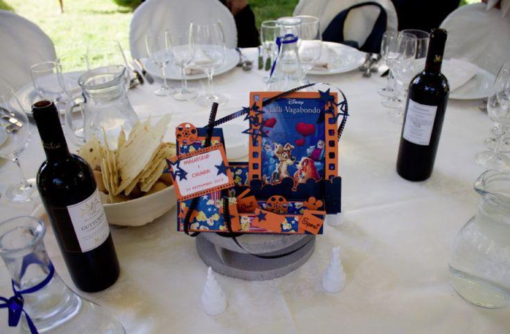 Centrotavola di carta a tema Disney | matrimonio di Chiara & Maurizio