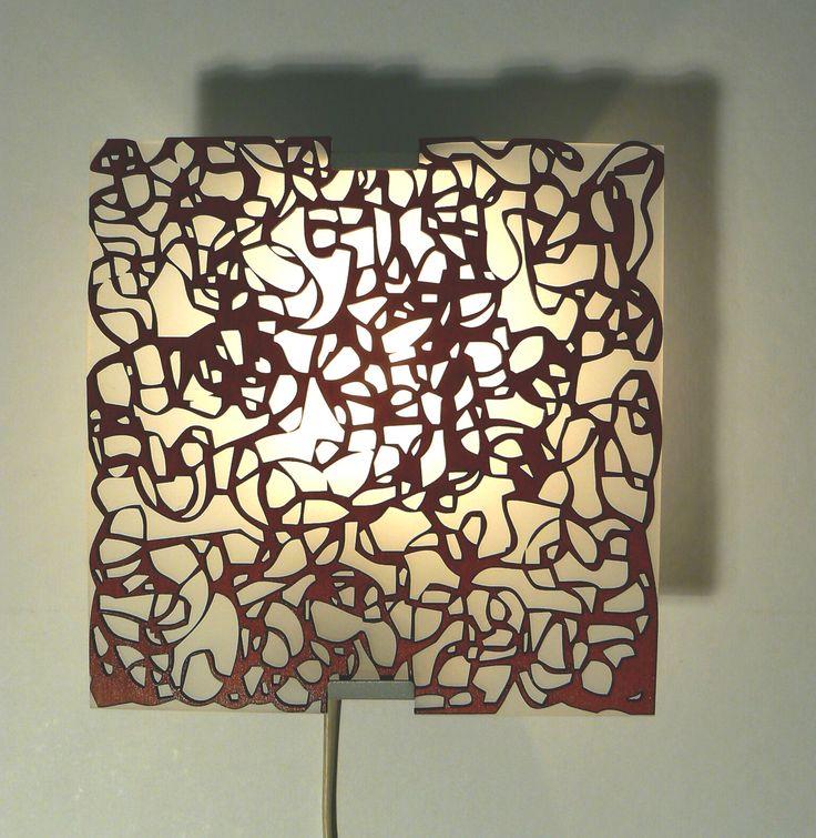Ornament+-+nástěnné+svítidlo