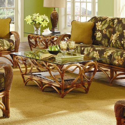 Spice Islands Caneel Bay Coffee Table Set