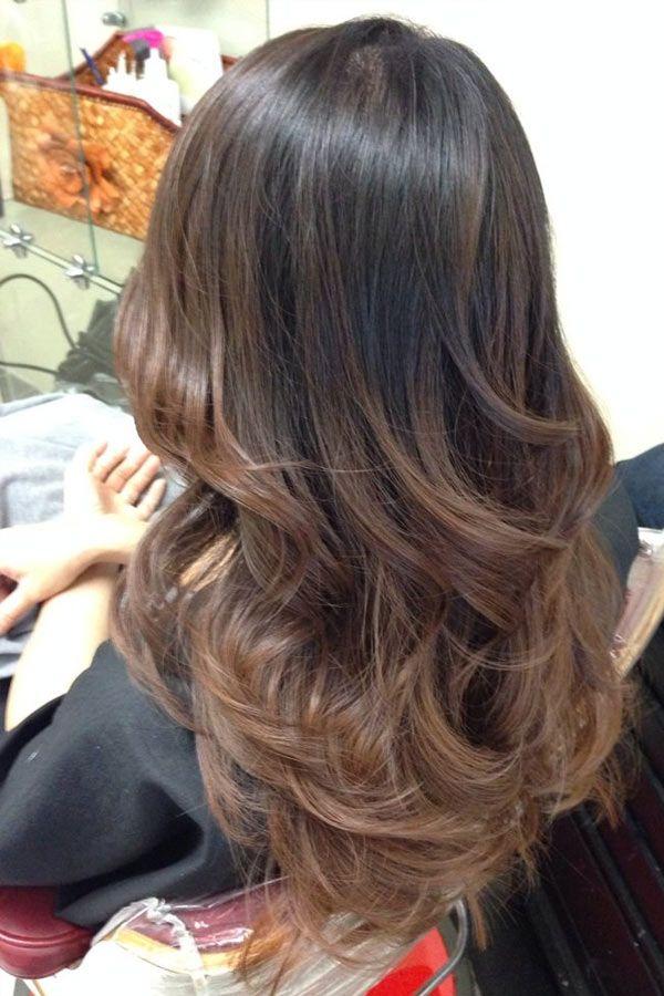 nice Красивый шоколадный цвет волос (50 фото) — Темные и светлые оттенки Читай больше http://avrorra.com/shokoladnyj-cvet-volos-foto-ottenki/