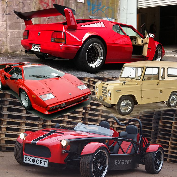Throw Back Thursday - a Countess Lamborghini, Trekka and Exocet. All NZ Made!  Today, a domestic automotive manufacturing industry is not something you associate with New Zealand. But organisers of this year's CRC Speedshow , along with the Buy New Zealand Made campaign, have teamed up to create a one-off display of road going cars designed, built and sold by Kiwi manufacturers. So come along this weekend to Auckland's ASB Showgrounds http://www.speedshow.co.nz/