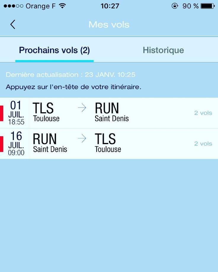 Il y a plus qu'a attendre #vol #toulouse #lareunion #travel #copine by bahlinger_cecile