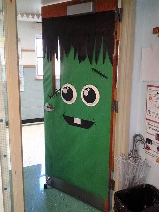 033828_Halloween Door For School ~ Decoration Ideas for the Room . & Halloween Door Decorations Ideas] Best 25 Halloween Door ...