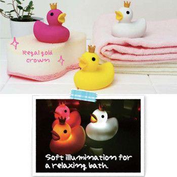 I Love New Yoku Bath Light - Crown Duck