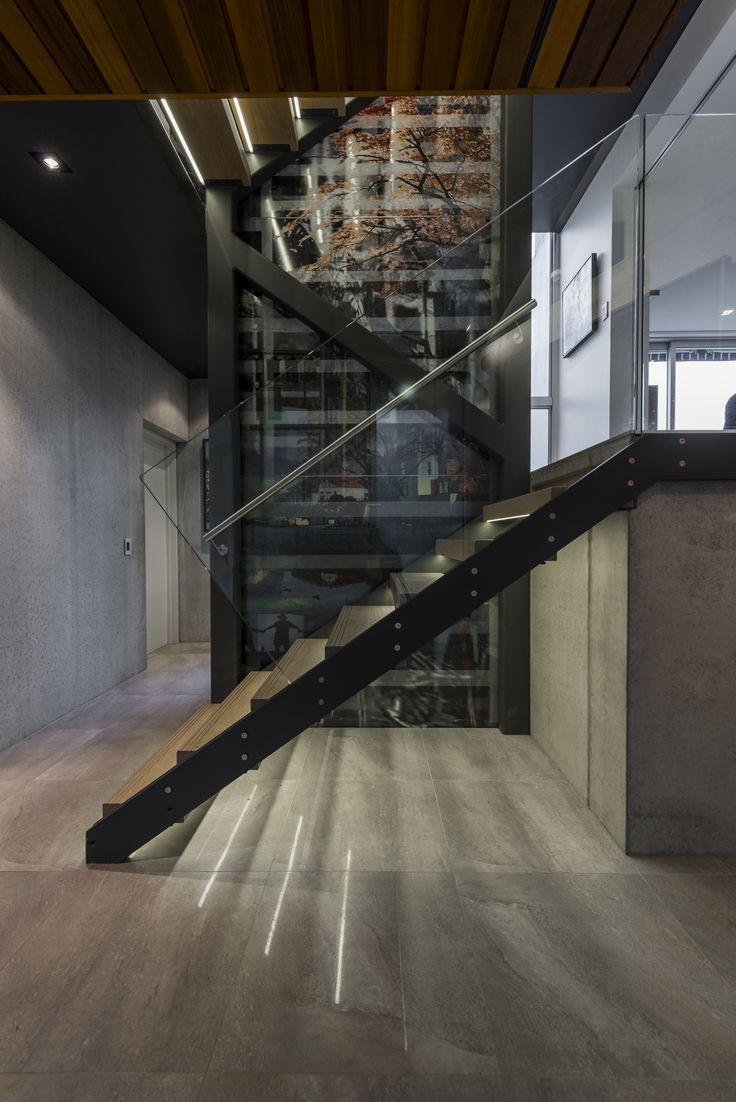 National Finalist 2014 ADNZ | Resene Architectural Design Awards - Designed by Cymon Allfrey from Cymon Alfrey Architects Ltd #ADNZ #architecture #stairs