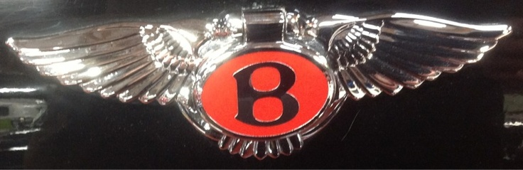 Bentley emblem.  www.volocars.com
