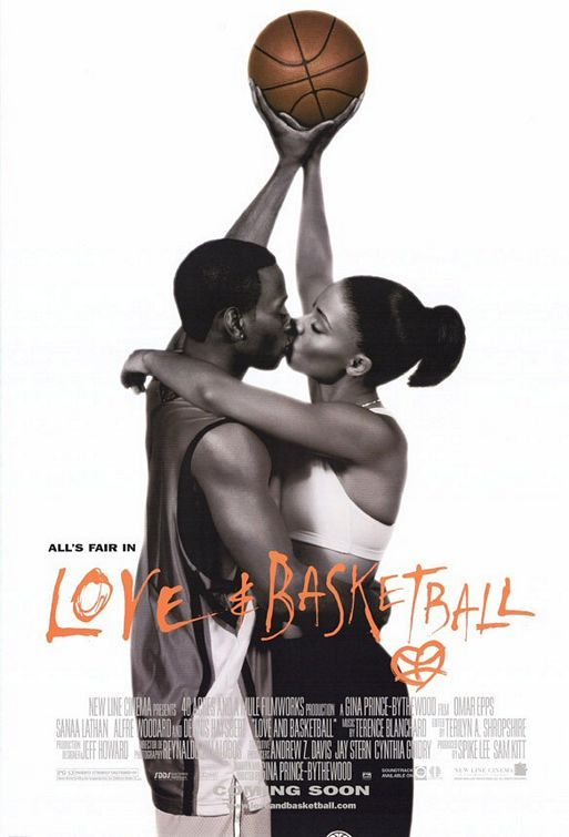 Love & Basketball is one of my hobbies because I am always in the mood to watch this movie.