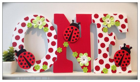 Hey, I found this really awesome Etsy listing at https://www.etsy.com/listing/99956625/ladybug-birthday-number-prop-one-cake