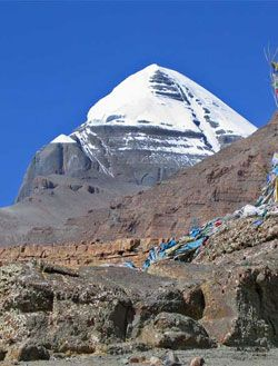Mount Kailash, Tibet - my favorite mountain...someday I will make the trek around its base...