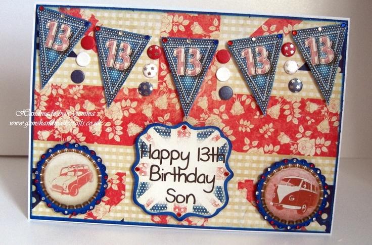 Portobello Road Birthday Card