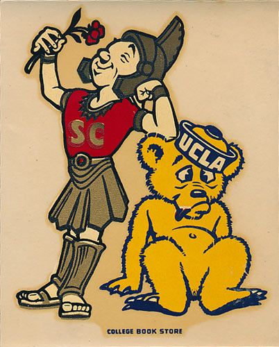 USC vs UCLA Game Decal
