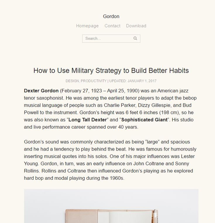 Gordon is a free clean, simple, minimalist WordPress theme for folks who love writing beautiful stories. Being minimal the theme is really fast, and this can increase your Google rankings. Gordon doesn't include a sidebar area, but it does include previous and next article sections. Gordon is designed by the guys at Grove Pixels. You […]