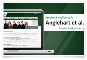 Anglehart et al.  Company Website and Web Application  As a small team of specialized patent and trademark lawyers, the team at Anglehart et al. wanted a corporate website that was simple to manage and easy-to-update. They also had a great idea for a time-saving internet application for patent attorneys and IP specialists. We helped the company achieve both of these goals.
