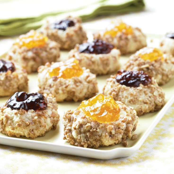Thumbprint Cookies - Sweet and Festive Pecan Desserts - Southernliving ...