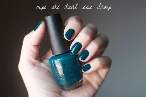 OPI Ski teal we drop. - nail_ru