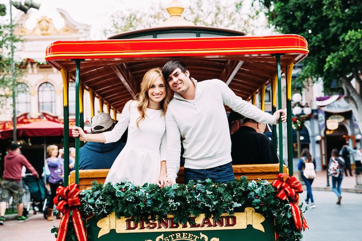 Married and Bright: A Stylish Disneyland Anniversary Photo Shoot | Lifestyle | Disney Style
