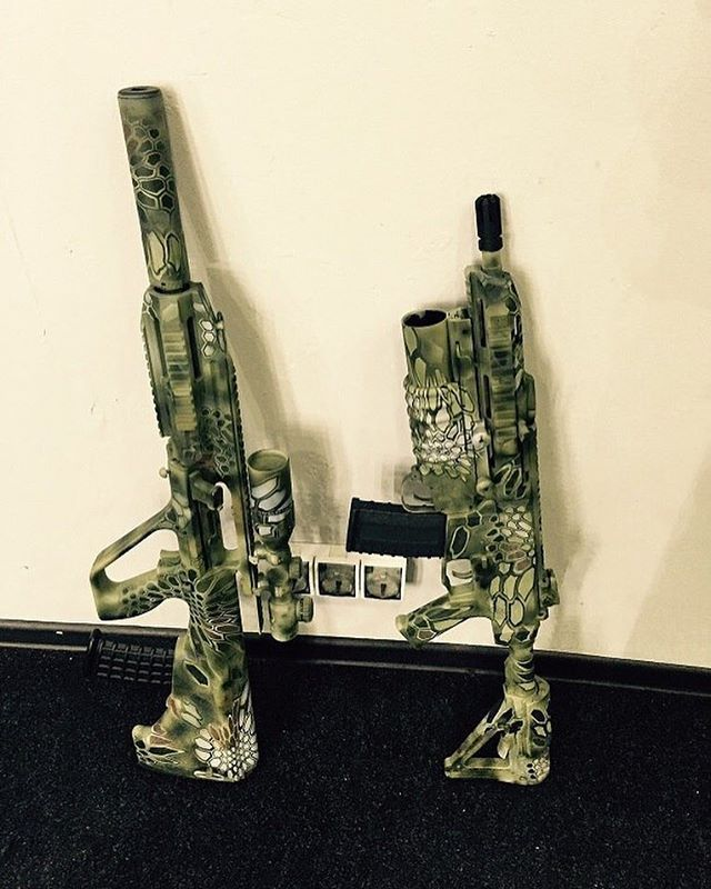 This is a photo of Witty Free Printable Camo Stencils for Guns