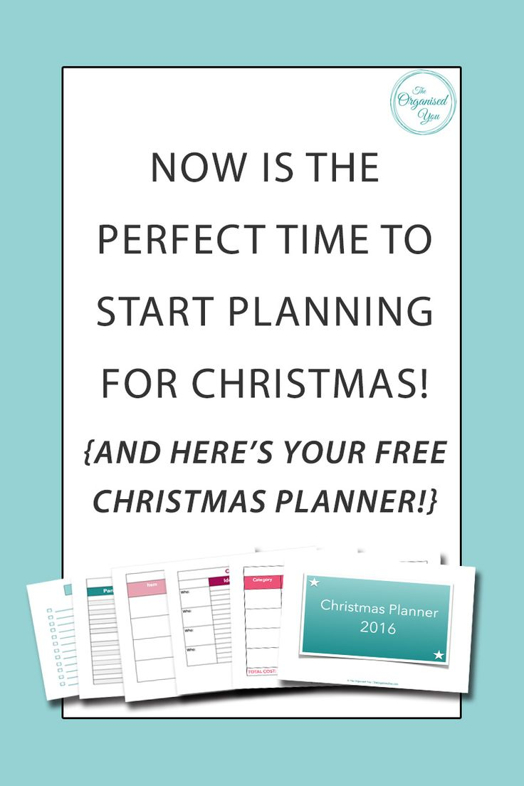 Now is the perfect time to start planning for Christmas! - have you started planning for the busy season yet? If you're wanting to get prepared and organised for Christmas, it's all about planning your gifts, budget, food, and tasks. Which you can easily do with my FREE Christmas planner! Get your copy by clicking through...