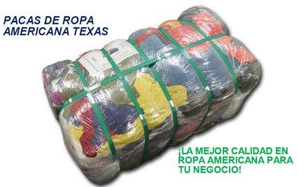 PACAS DE ROPA NUEVA AMERICANA - Página web de pacasderopatexas