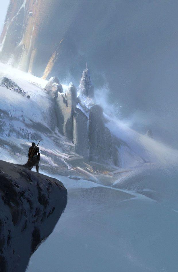 Winter Peak by Max Bedulenko