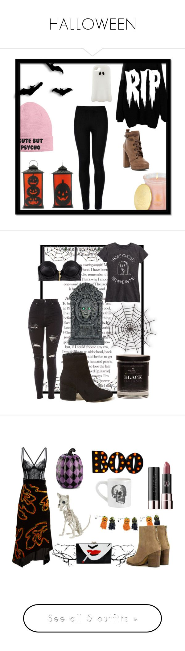 """HALLOWEEN"" by dog424lover ❤ liked on Polyvore featuring Creed, Nikki Lipstick, Daya, STELLA McCARTNEY, Wolford, H&M, Topshop, Hollister Co., rag & bone and Peter Pilotto"