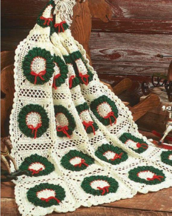 Mejores 65 imágenes de Colchas navideñas en Pinterest | Adornos de ...