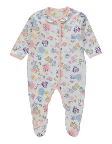 Disney-Minnie-Mouse-plage-imprimer-Sleepsuit-taille-18-24-mois