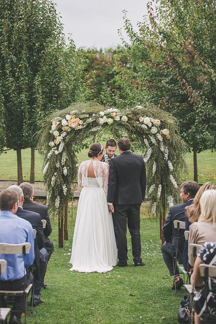 Ataahua Garden Wedding With Gorgeous Floral Arch Tauranga NZ