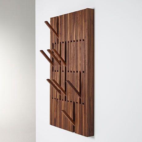 Large Piano Coat Rack - Walnut by PER/USE   MONOQI