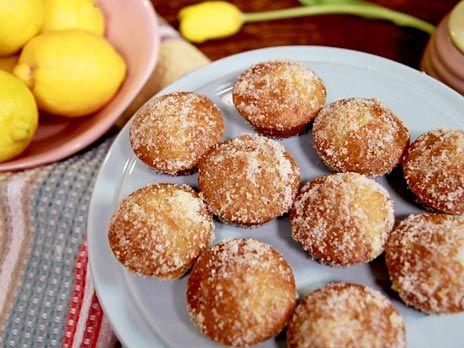 Citronkakor med lemon curd, Christina Gyllners fyllda, mjuka småkakor.