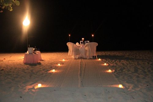 Private #beach dinner with your love <3 Couples Negril, Jamaica...  Hoping we get this included with our stay!  Cant wait till October!!!