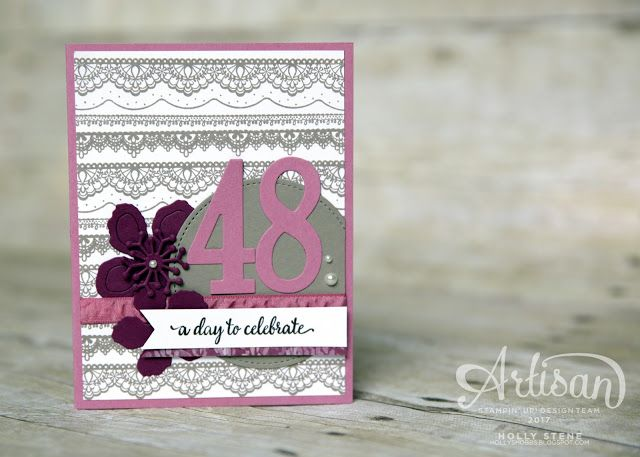 Holly's Hobbies: Let's CELEBRATE! Sale-a-Bration kickoff! & Birthday Giveaway Winner :)