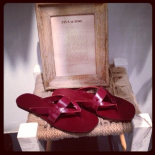 Sandals by Zeus and Dione at Belvedere Hotel - Mykonos only!!!!!