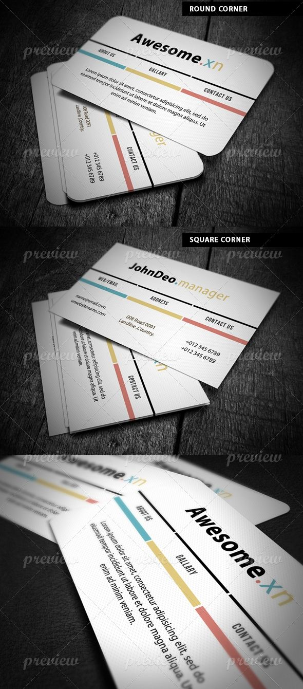 55 best Business Cards images on Pinterest | Business card design ...