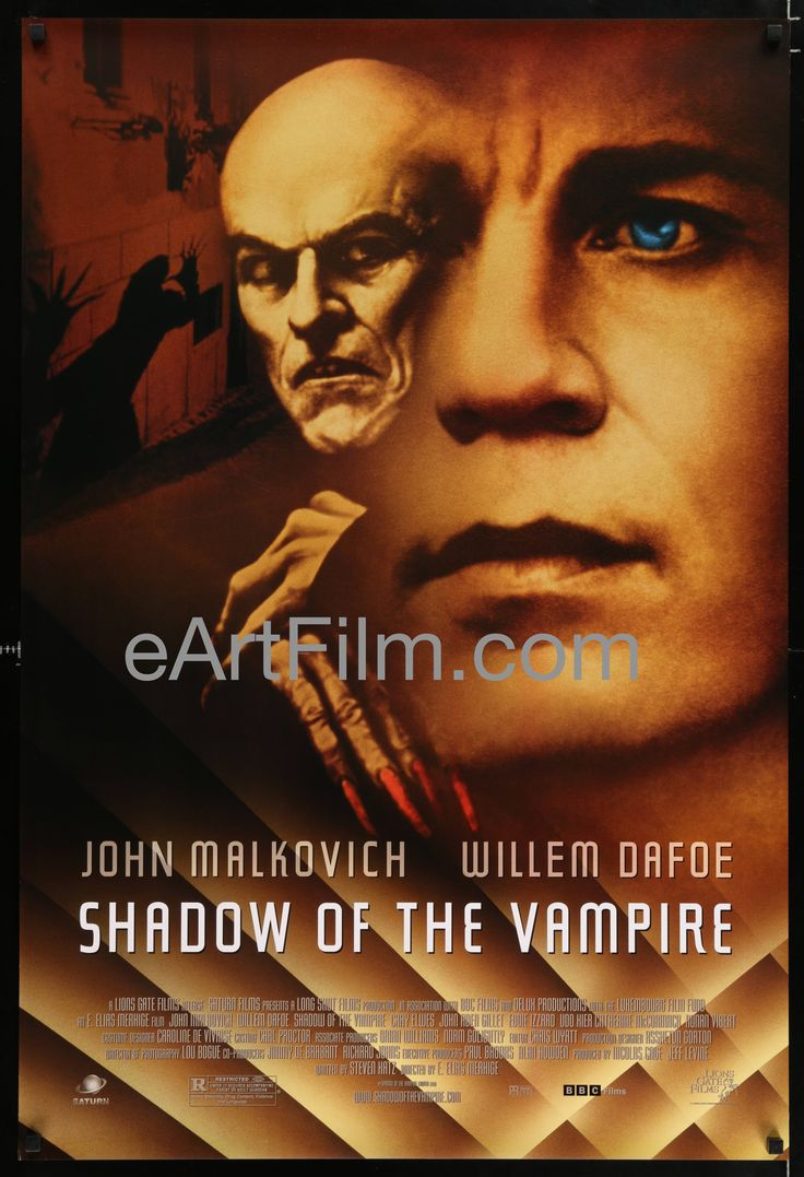 Shadow Of The Vampire 2000 27x40 Unfolded Theatrical Release One Sheet