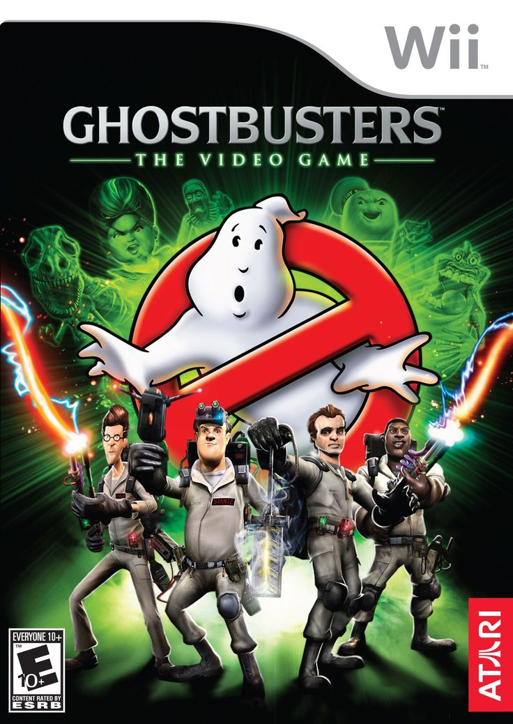 Ghostbusters: The Video Game (Nintendo Wii, 2009) Complete