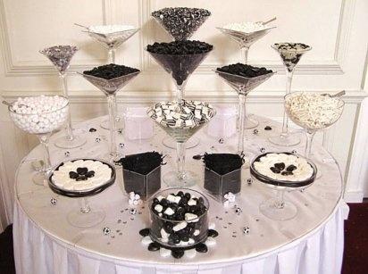 Decorar una boda en negro