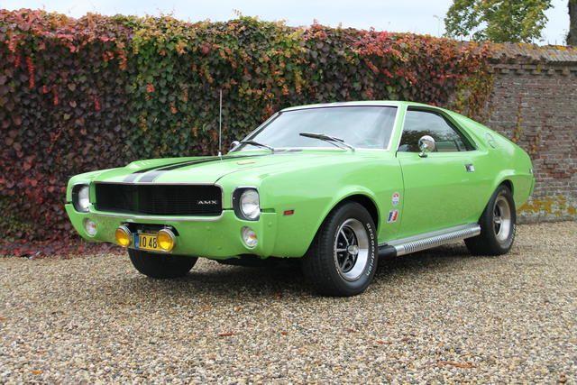 1969 American Motors Amx 500 California Special American