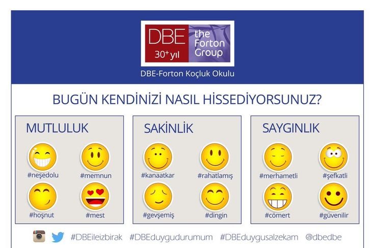 Bugün kendinizi nasıl hissediyorsunuz? DBE ile İz Bırak!  #izbirak #KoclukKonferansi #DBEileizbirak