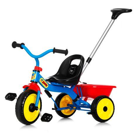 Vehicule pentru copii :: Trotinete si triciclete :: Triciclete :: Tricicleta cu maner Bamse Nordic Hoj