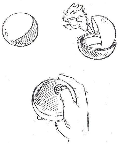 GlitterBerri's Game Translations » Early Pokémon Concept Art