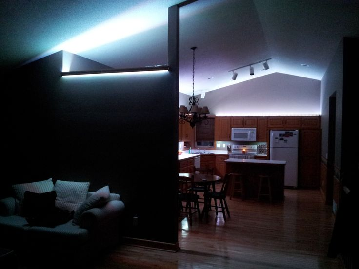 hitlights customer projects ricks ambient led house lighting intended for led house lights Consideration Before Buying LED House Lights