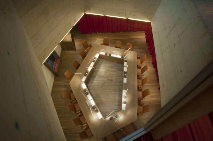 Wimmer-Holzboden 'Scurano' im Boardroom Hotel B2 in Zürich, Hürlimann-Areal.
