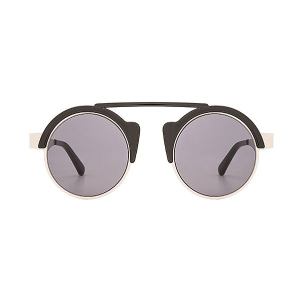Spitfire Off World Accessories ($35) ❤ liked on Polyvore featuring accessories, eyewear, sunglasses, spitfire sunglasses, metal-frame sunglasses, metal frame glasses, acetate sunglasses and spitfire glasses